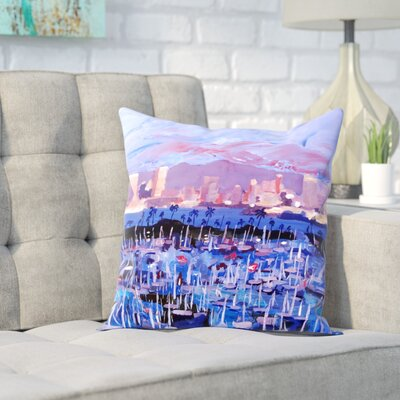 Markus Bleichner Huang San Diego Throw Pillow Size: 20 H x 20 W x 2 D