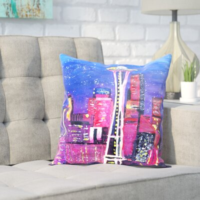 Markus Bleichner Gidley Seattle Stars Throw Pillow Size: 20 H x 20 W x 2 D