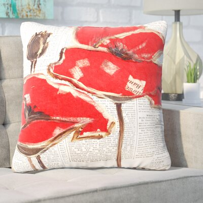 Shumake Perfection Outdoor Throw Pillow Size: 26 H x 26 W