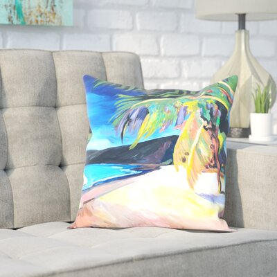 Markus Bleichner Eichelberger Magens Bay St Thomas Usvi Throw Pillow Size: 18 H x 18 W x 2 D