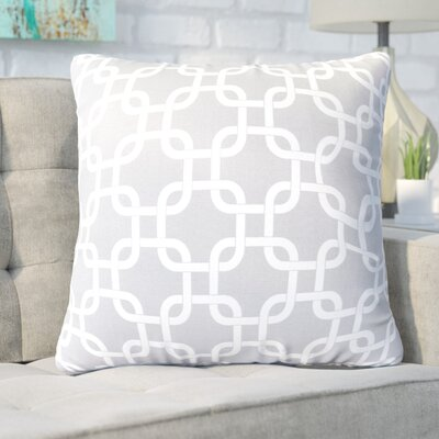 Danko Indoor/Outdoor Throw Pillow Fabric: Gray, Size: Large