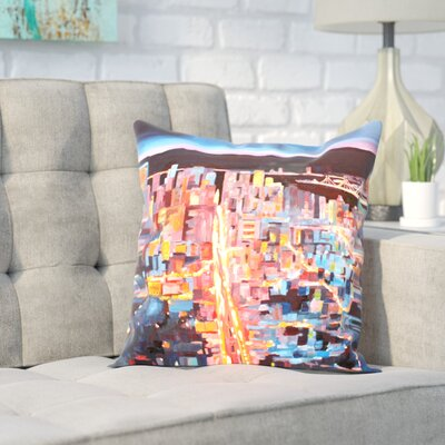 Markus Bleichner Eliason San Francisco Market Street 1 Throw Pillow Size: 18 H x 18 W x 2 D