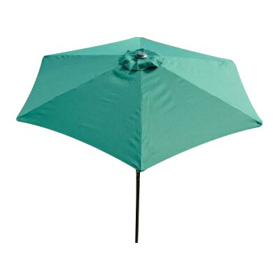 Gadson 9 Market Umbrella Fabric: Deep Green