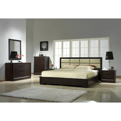 Brentry Platform Customizable Bedroom Set