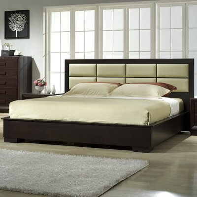 Brentry  Upholstered Platform Bed Frame Size: King