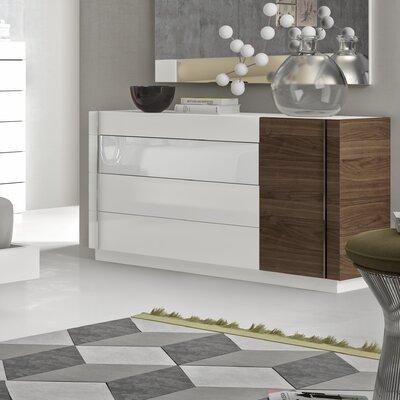 Brayden Studio Cretys 4 Drawr Dresser