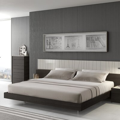 Cullerton Platform Bed Size: King