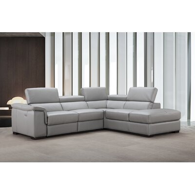 Cropsey Leather Sectional Orientation: Right Hand Facing