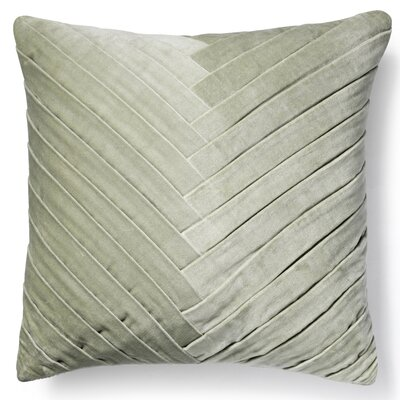 Northwick 100% Cotton Throw Pillow Color: Mint