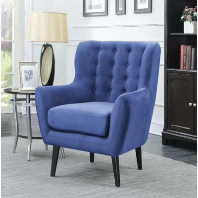 Galvez Armchair Upholstery: Denim Blue
