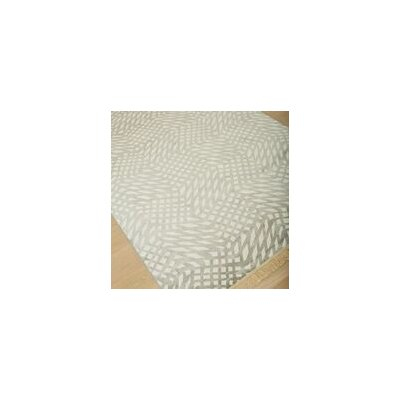 Foulds Silver/Grey Area Rug Rug Size: 710 x 112