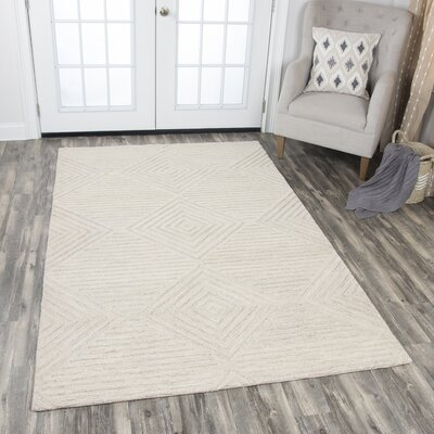 Arcand Hand-Tufted Natural Area Rug