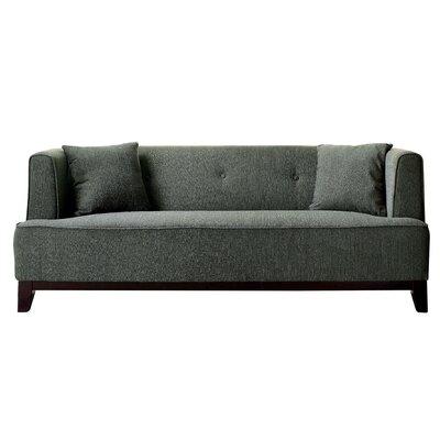Husman Modern Sofa Upholstery: Gray
