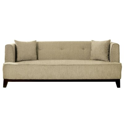 Husman Modern Sofa Upholstery: Beige