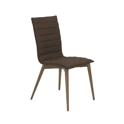 Kewstoke Side Chair Upholstery: Brown