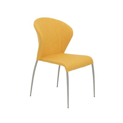 Eickhoff Side Chair Upholstery: Yellow