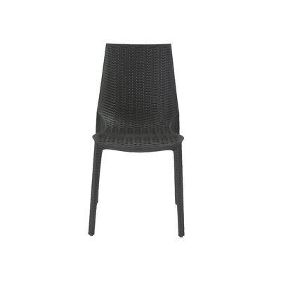 Chamber Side Chair Finish: Anthracite