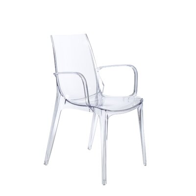 Daleville Arm Chair Finish: Transparent