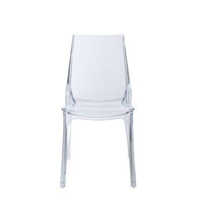 Daleville Side Chair Finish: Transparent