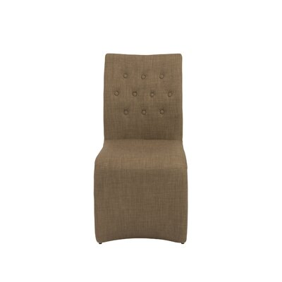 Bernardi Side Chair Upholstery: Mocha