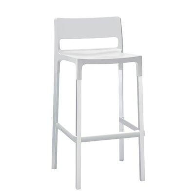 Millwood 29.53 Bar Stool Upholstery: Linen