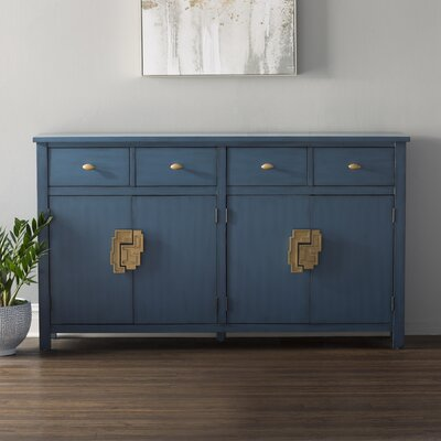 Carney 4 Drawer 4 Door Sideboard