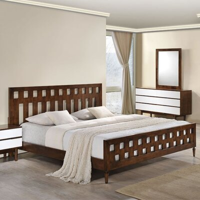 Elswick King Platform Bed Size: Queen