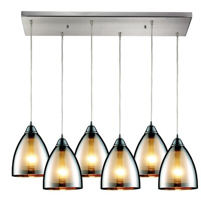 Ruelas 6-Light Kitchen Island Pendant