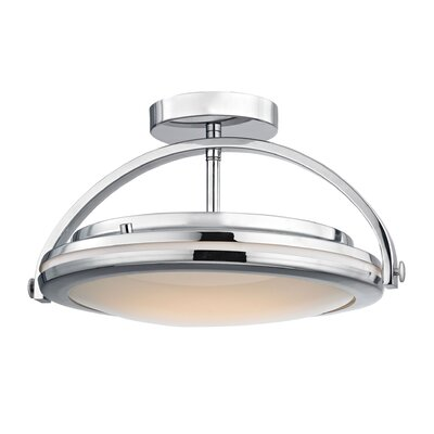 Rudd 1-Light LED Semi Flush Mount