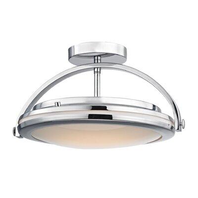 Rudd 1-Light LED Semi Flush Mount