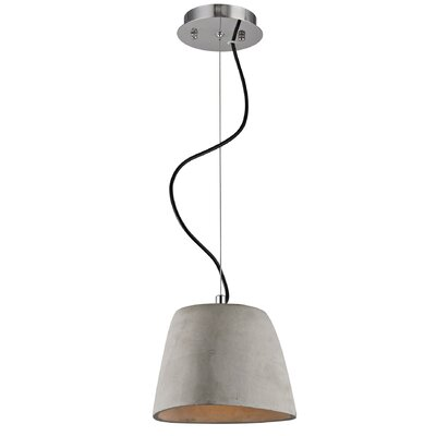 Rueter 1-Light Inverted Pendant