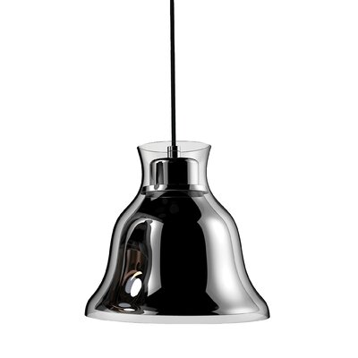 Ruffner 1-Light Inverted Pendant Shade Color: Copper