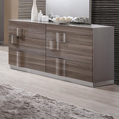 Rutherford 6 Drawer Dresser