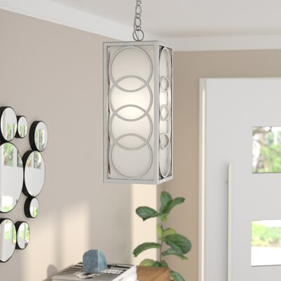 Templeman 1-Light Chandelier