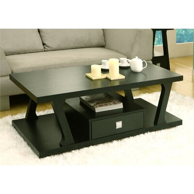 Templeville Coffee Table Color: Black