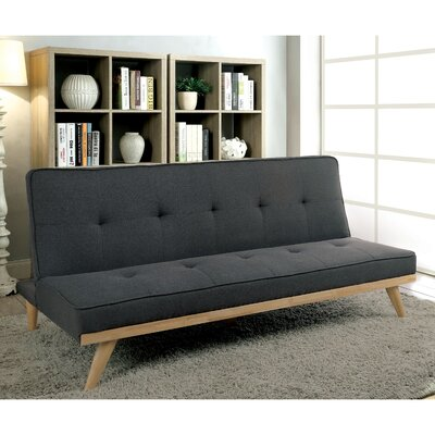 Prager Convertible Sofa Upholstery: Gray