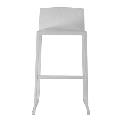 Fairlawn 29 Bar Stool Finish: White