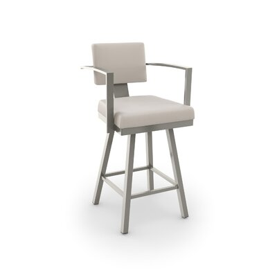 Miraculous Brayden Studio Perrotta 2675 Swivel Bar Stool Gmtry Best Dining Table And Chair Ideas Images Gmtryco