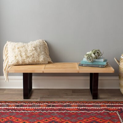 Brayden Studio Brenford Wood Dining Bench