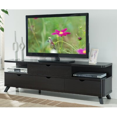 Weatherall TV Stand Finish: Cappuccino