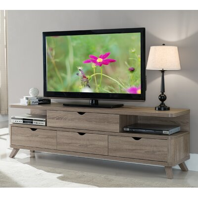 Weatherall 71 TV Stand Color: Light Oak