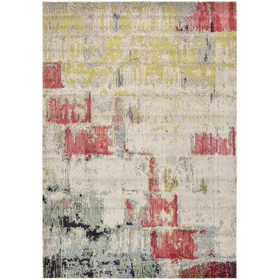 Ned Beige Neutral Area Rug Rug Size: Runner 27 x 10