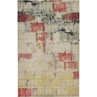 Ned Beige Neutral Area Rug Rug Size: 106 x 165