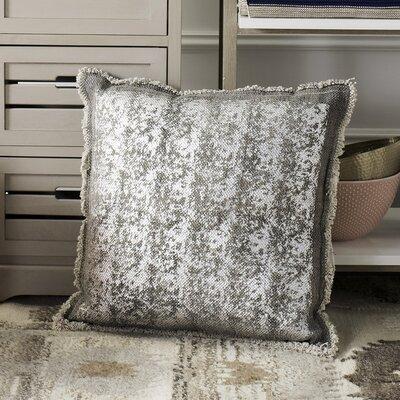 Jonah Metallic Grid Throw Pillow