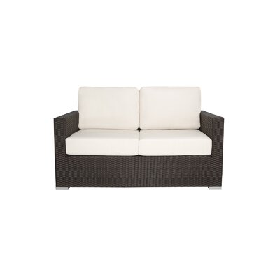 Ronning Love Seat Fabric: Black