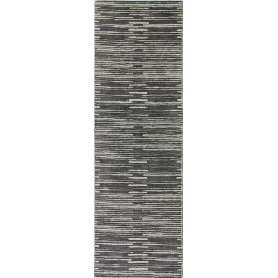 Dolores Rug in Gray Rug Size: Runner 26 x 8