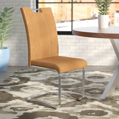 Mcmorris Side Chair (Set of 2) Upholstery: Brown