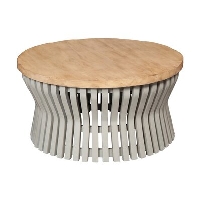 Swaney Drum Coffee Table