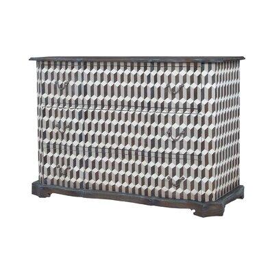 Gravelle 3 Drawer Standard Dresser