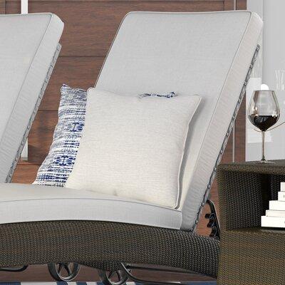 Allen Park Outdoor Throw Pillow Color: Neutral, Size: 20 H x 20 W x 4 D